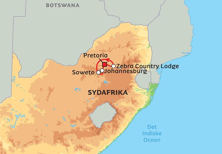 Sydafrika Ferie Alene I Faellesskab
