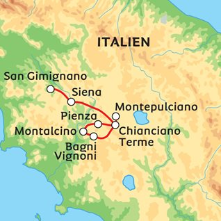 6151f5310a1 Sommer, kultur og pilgrimsvandring i Toscana
