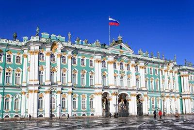 Vinterstemning I Skt Petersborg